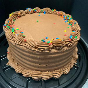 6″ Basic Birthday Cake