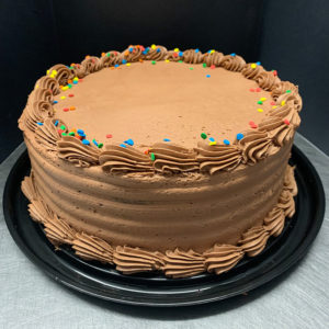 8″ Basic Birthday Cake