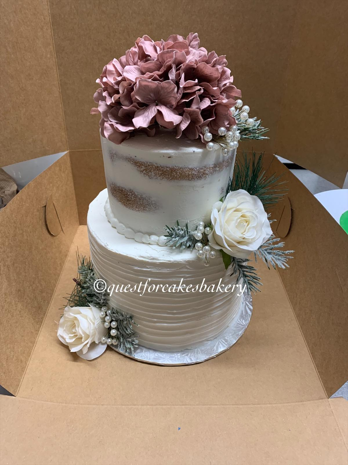 Wedding Cakes by Quest for Cakes Bakery
